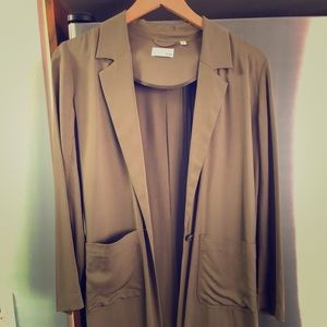 Aritzia Wilfred Free long blazer